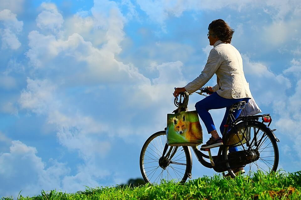 Mini pompe vélo